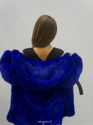 Фото модной шубы из искусственного меха