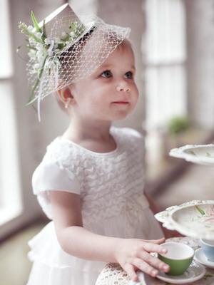 Шляпка с вуалью своими руками для девочки фото 46