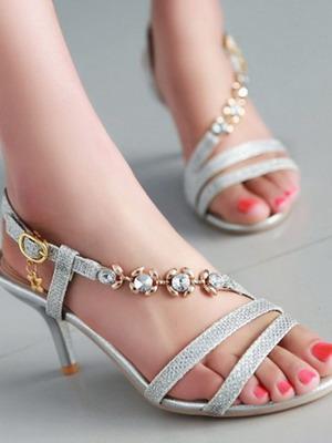 Прическа туфли  для выпускного