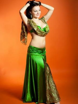 Юбка к костюму восточных танцев