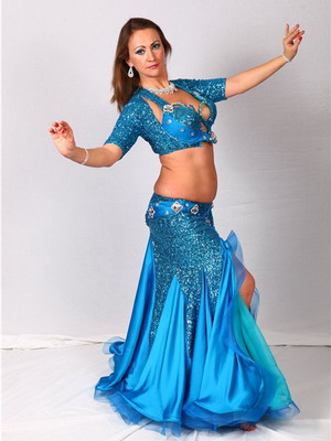 Восточный костюм для танца живота фото