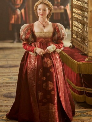 Женский костюм барокко