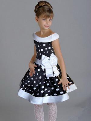 Платье детское в стиле стиляги