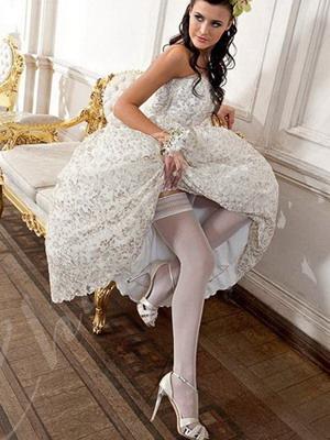 Фото ножек у невест в колготках — img 4