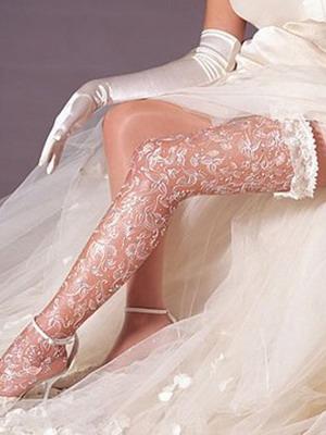 Чулки под свадебное платье: фото и видео белых свадебных чулок и белья других цвет
