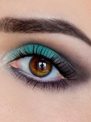 Идеи макияжа для карих глаз поэтапное 145