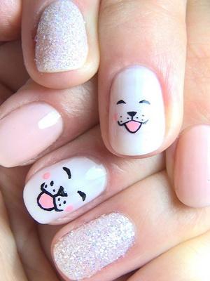 Фото наклеек на ногти для детей 10 лет