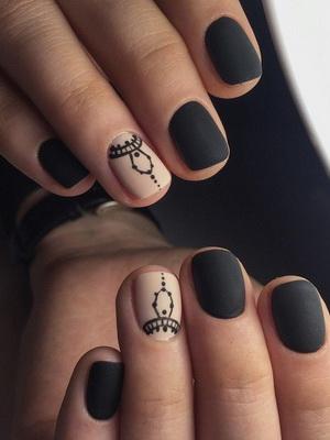Шеллак Дизайн На Короткие Ногти 2019