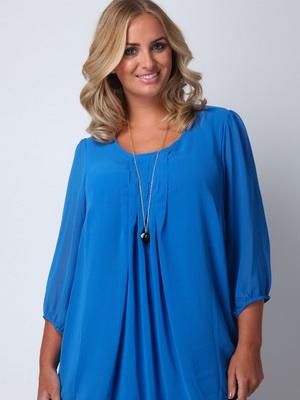 ee0ee9e8157 Фасоны блузок для полных женщин  изделия из трикотажа