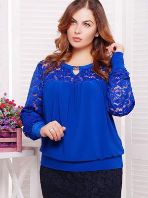 3c1cd74f066 Фасоны летних блузок для полных женщин и девушек – это разнообразие цвета