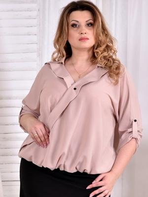 38cd19cd56f Ознакомиться с лучшими фасонами летних блузок для полных женщин можно на  этих фото