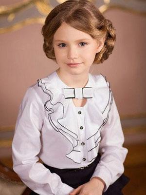 a1eebaa59d362 Красивые модные блузки для девочек, подростков и девушек в школу ...