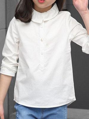 Красивые модные блузки для девочек, подростков и девушек в школу ... 96c5167bc02